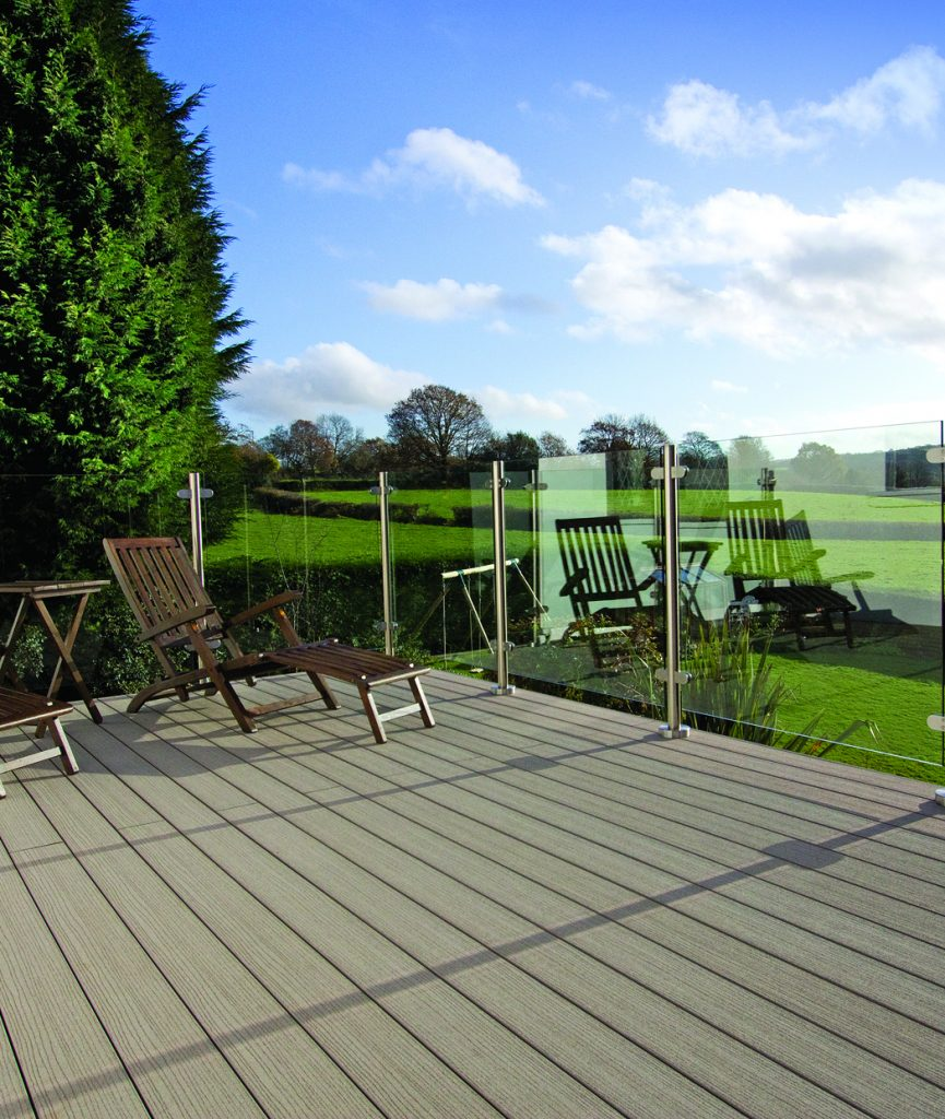 Which type of decking is the most low-maintenance?