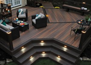 Decking Is Traditionally Used In Place Of A Patio Leading From The Back Door Down To Grass However There Are Plenty Other Outdoor Spaces That