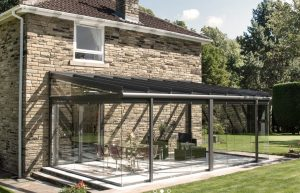glass veranda extension